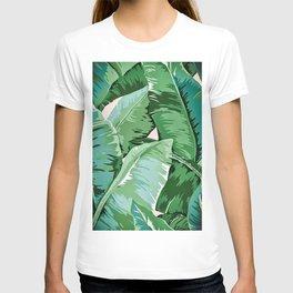Banana leaf grandeur II T-shirt