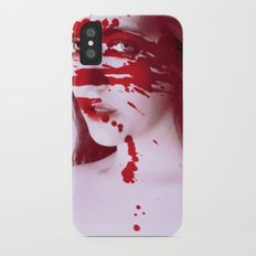Blinded by Blood Slim Case iPhone X