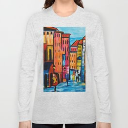 Afternoon Walk Downtown Long Sleeve T-shirt
