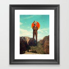 Video404 Framed Art Print
