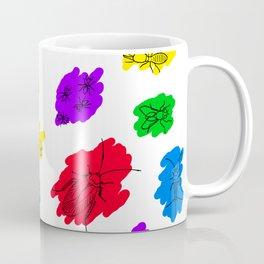 Uninvited Guests - Black Outline Coffee Mug