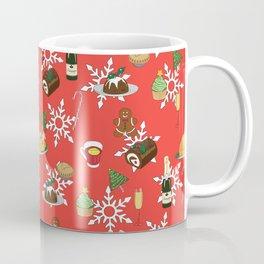 Christmas food festive pattern Coffee Mug