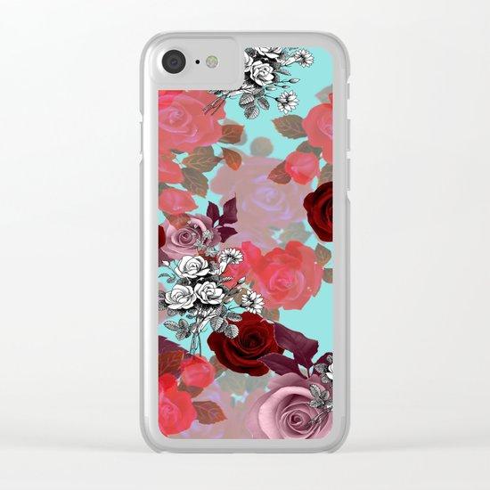 RoseNRoses Clear iPhone Case