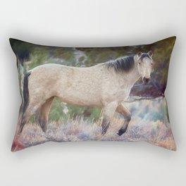 Beautiful Buckskin Rectangular Pillow