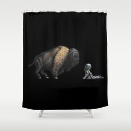 Nocturnal Encounters II Shower Curtain