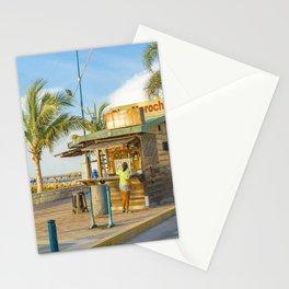 La Libertad Ciyt Malecon, Santa Elena, Ecuador Stationery Cards