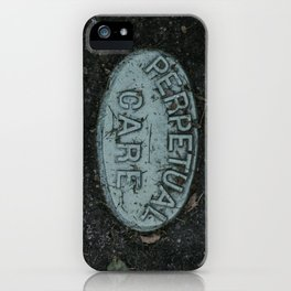 Perpetual Care iPhone Case