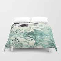 poetry Duvet Covers featuring Abstract Poetry by Webgrrl