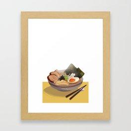 Tonkotsu Ramen Framed Art Print
