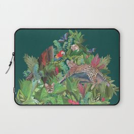 Into the Wild Emerald Forest Laptop Sleeve