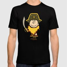 LeChuck Black MEDIUM Mens Fitted Tee