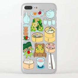 Dim Sum Lunch Clear iPhone Case