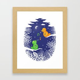 Heart Song Framed Art Print