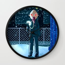 Doctor Who Oods Wall Clock