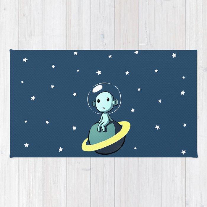 Space Alien Rug