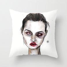 kate no,3 Throw Pillow