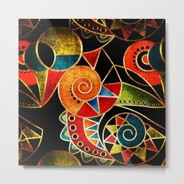 Abstraction - Carnival Metal Print