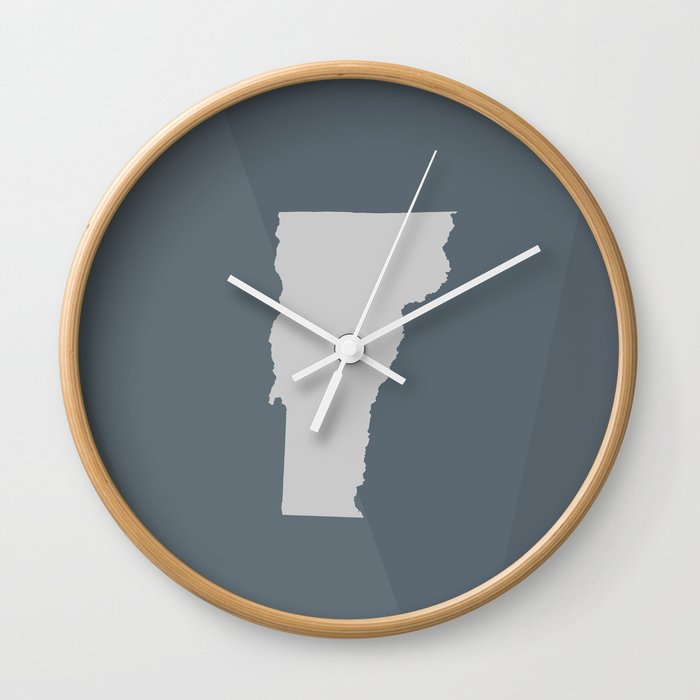 Vermont State Wall Clock