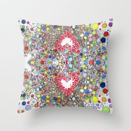 Pop Love Intoxication Throw Pillow