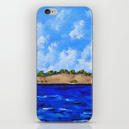 On the Shores of Lake Michigan iPhone Skin