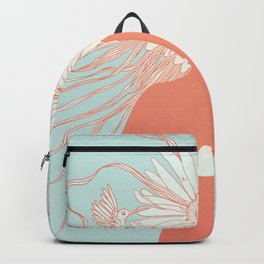 Flower Girl (Life and the Fragile Presence of Beauty) Backpack