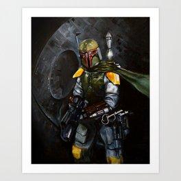 BobaFett of the 501st Legion fan art Art Print