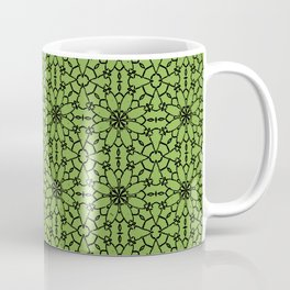 Greenery Lace Coffee Mug