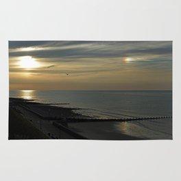 Cromer's setting sun and Sundog Rug