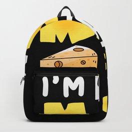 Im 50% mac and 50% Cheese Backpack