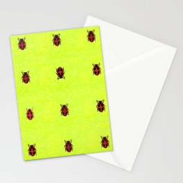 Ladybird March Stationery Cards