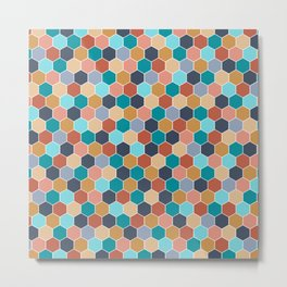 Colorful palette Metal Print