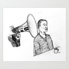 Le Parti De La Presse Et De L'Argent (PPA) Art Print