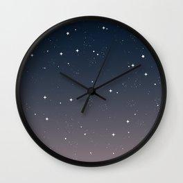 Keep On Shining - Peaceful Dusk Wall Clock