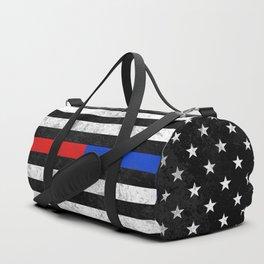 Fire Police Flag Duffle Bag