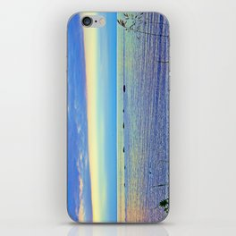 Saturated Sunset over the Circle of Rocks  iPhone Skin