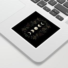 Moonlight Garden - Olive Green Sticker