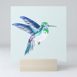 Hummingbird Velvet Morning Mini Art Print