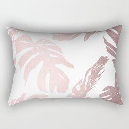 Rose Gold Island Rectangular Pillow