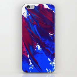 Wings Collection  blue/pink iPhone Skin