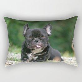 Timmy - French Bulldog Rectangular Pillow