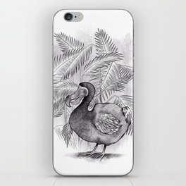 Last one of the Dodos - jungle print iPhone Skin