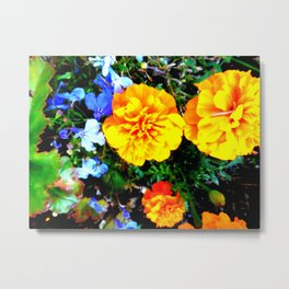 Fall Bloomers 10 Metal Print