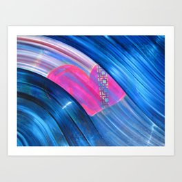 Love From Way Above Art Print