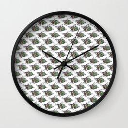 Sweet Dee the Watermelon Corgi Wall Clock
