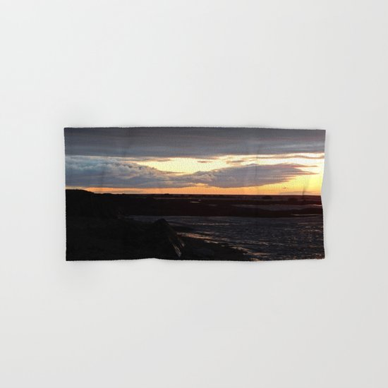 Sunset on the St-Lawrence Hand & Bath Towel