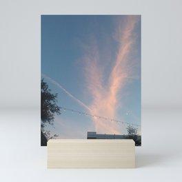 Cloudburst (St Laurent, Montreal, Canada) Mini Art Print