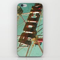 rock and roll iPhone & iPod Skins featuring Rock and Roll by Cassia Beck