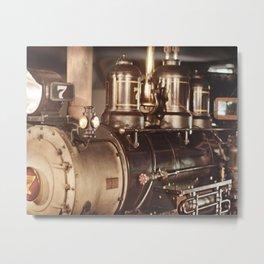 """#7 Locomotive"" by Murray Bolesta! Metal Print"