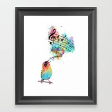 Sing for... Framed Art Print