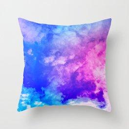Color Foam III Throw Pillow